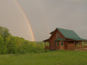 Sandy Acres Log Cabin Rental Liberty KY